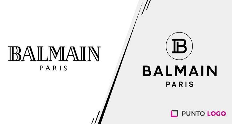 Logotipo nuevo de Balmain Paris