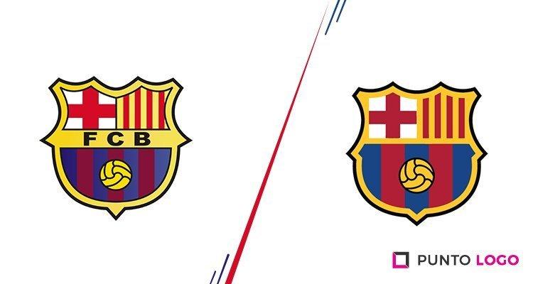 Rediseño del escudo del FC Barcelona