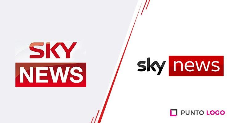 Logo nuevo de Sky News