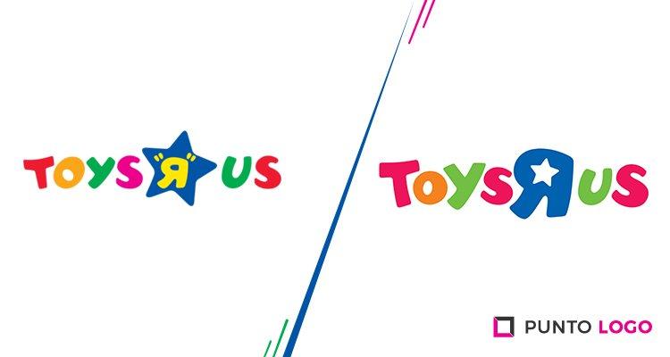 Logotipo nuevo de Toys R Us