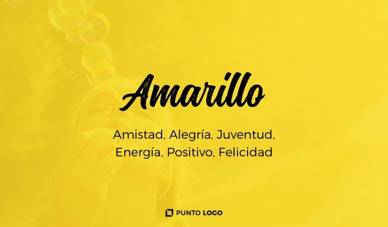 significado del color amarillo en los logos
