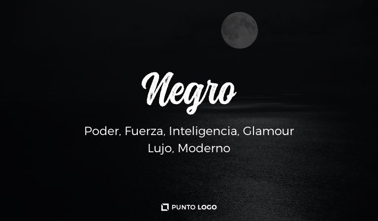 significado del color negro en los logos