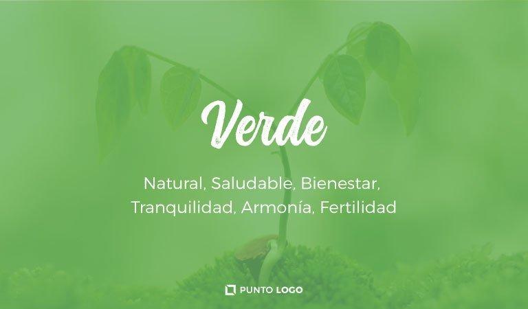 significado del color verde en los logos